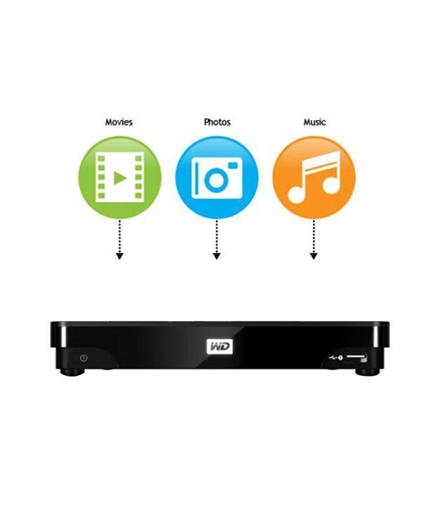WD TV Live Hub-1 TB Media Centre