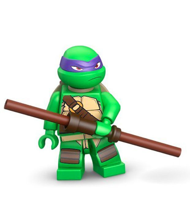 lego teenage mutant ninja turtles donatello minifigure construction rh snapdeal com