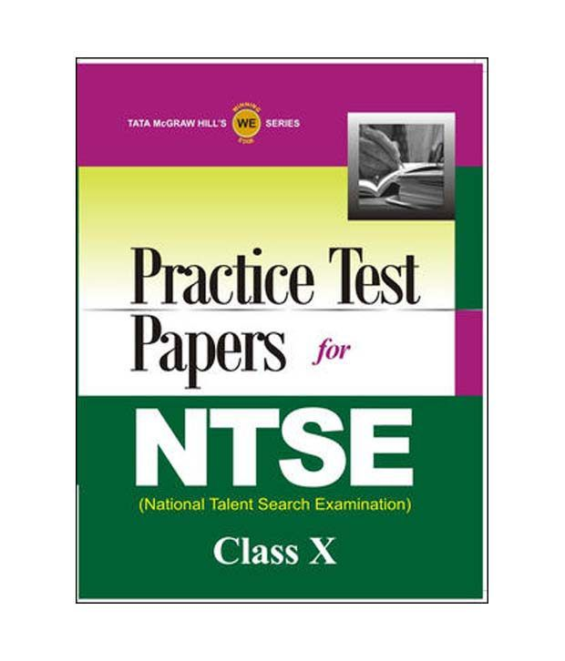NTSE National Talent Search Examination: Practice Test Papers (Class - 10)