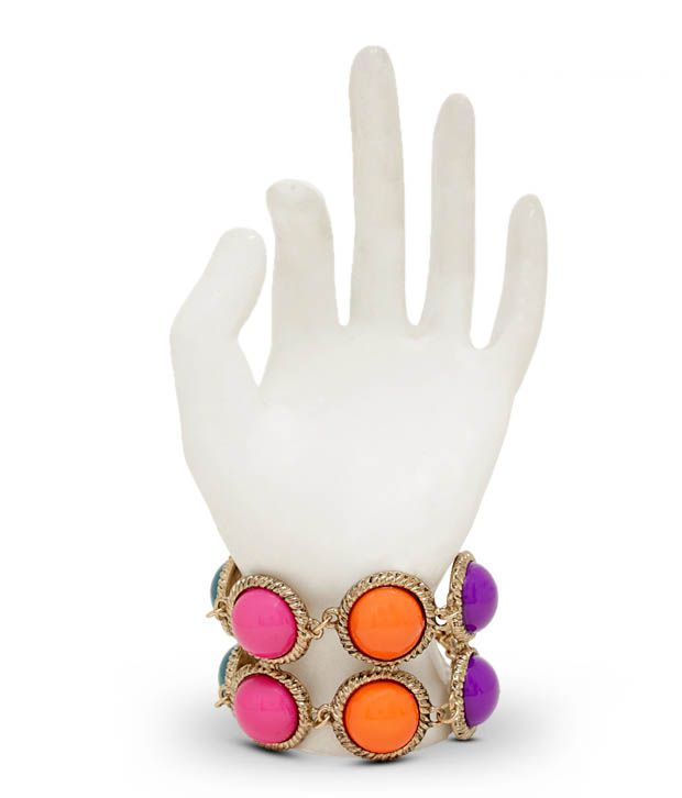 Diva Colourful Acrylic Dashing Bracelet