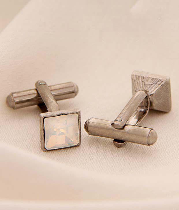 Favola Gleaming Crystal Cufflinks