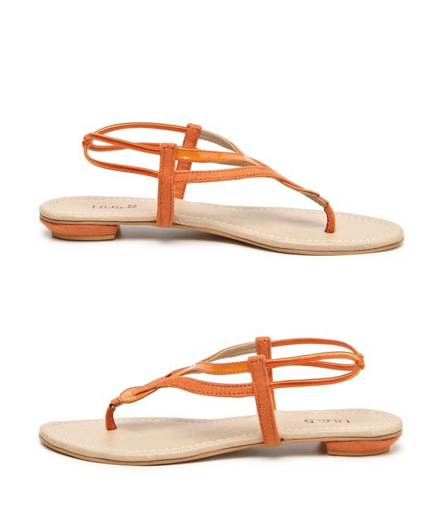 Inc.5 Elegant Orange Sandals