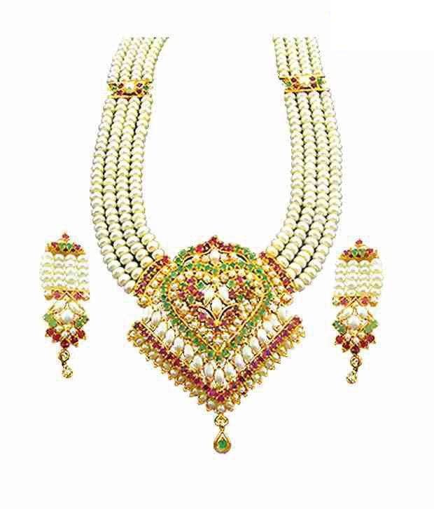 Sri Jagdamba Pearls Designer Rani Haar