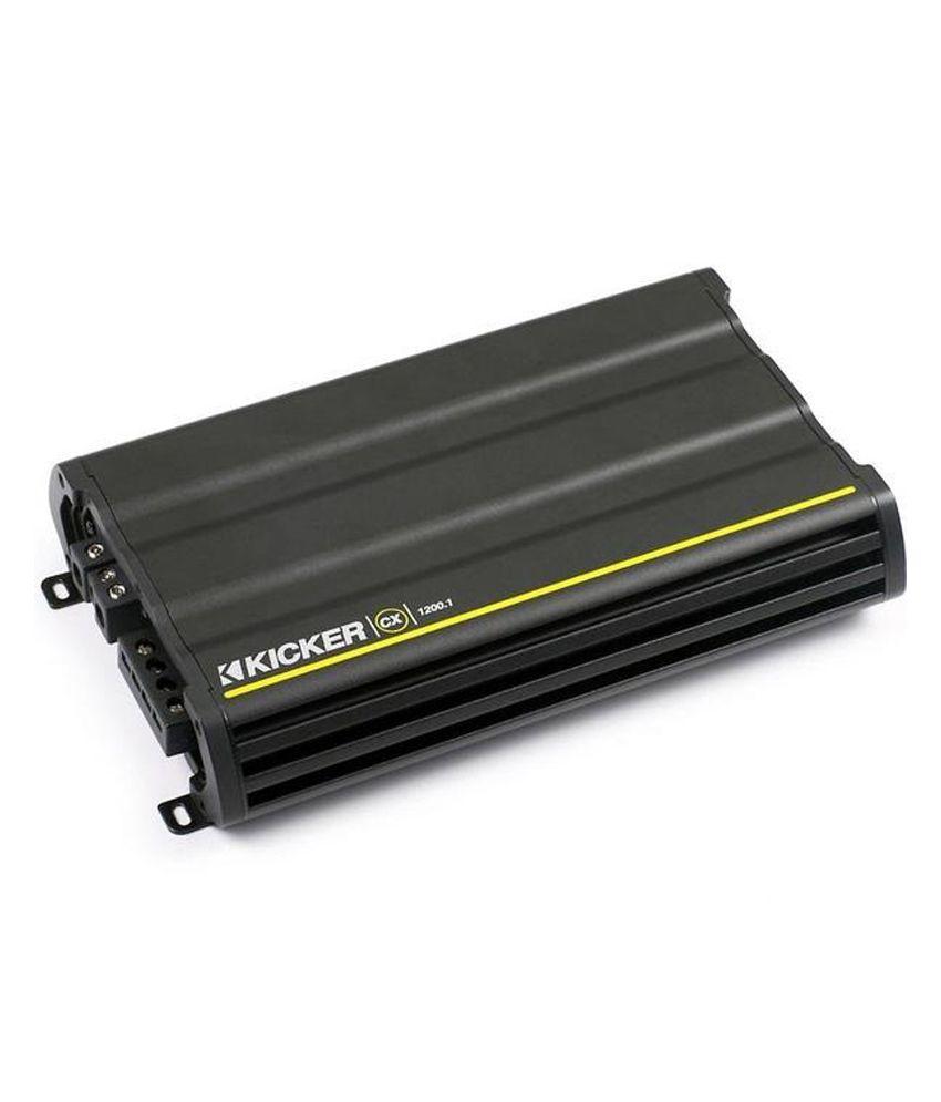 Kicker - CX 1200.1 - Mono Amplifier (1200 W)
