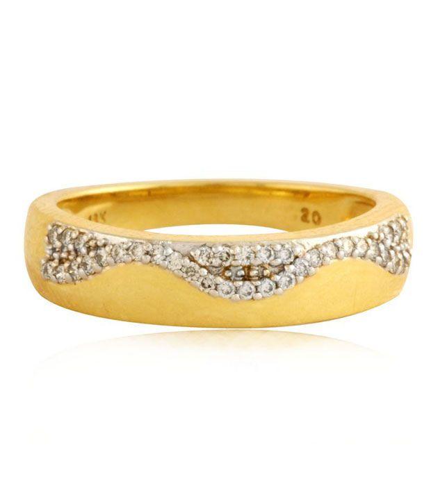 Mehrasons Diamond Mermaid Ring