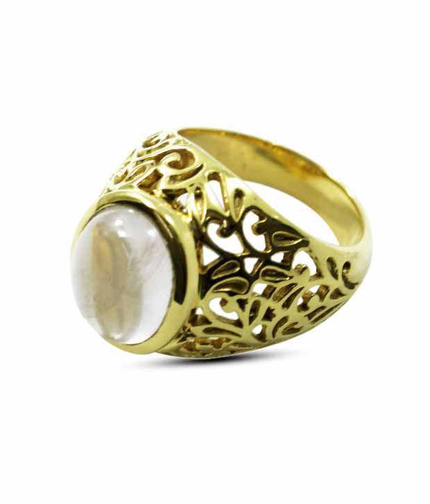 Nathi Dainty Designer Rose Quartz Ring