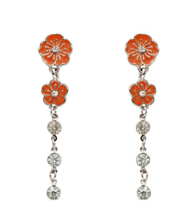 Pretty Woman Floral Inspired Stylish Earrings