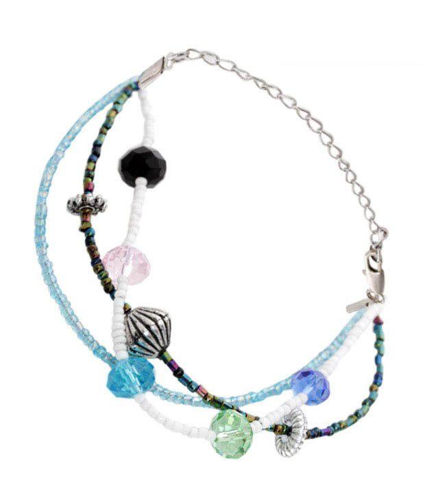 Pretty Woman Three String Charming Bracelet