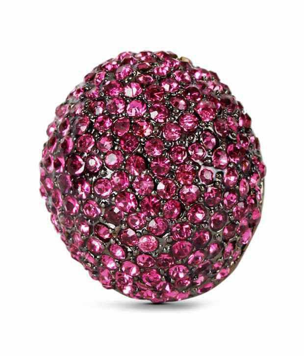 Rhea Artistically Designed Glitzy Ring