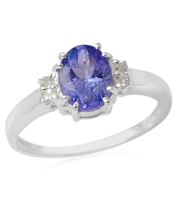 Ritz Enthralling Tanzanite Stone Ring