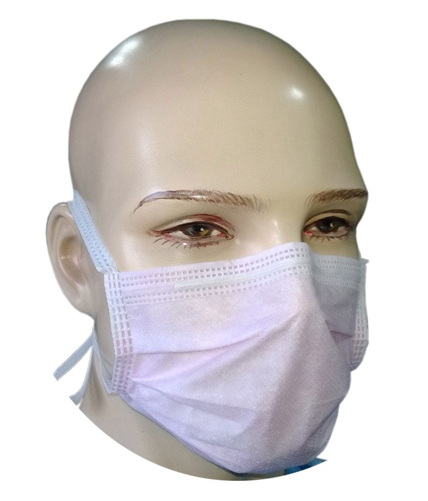 Buy On 3 98 Surgical bfe Tie - Pink gt; 3-ply Mask Filtra