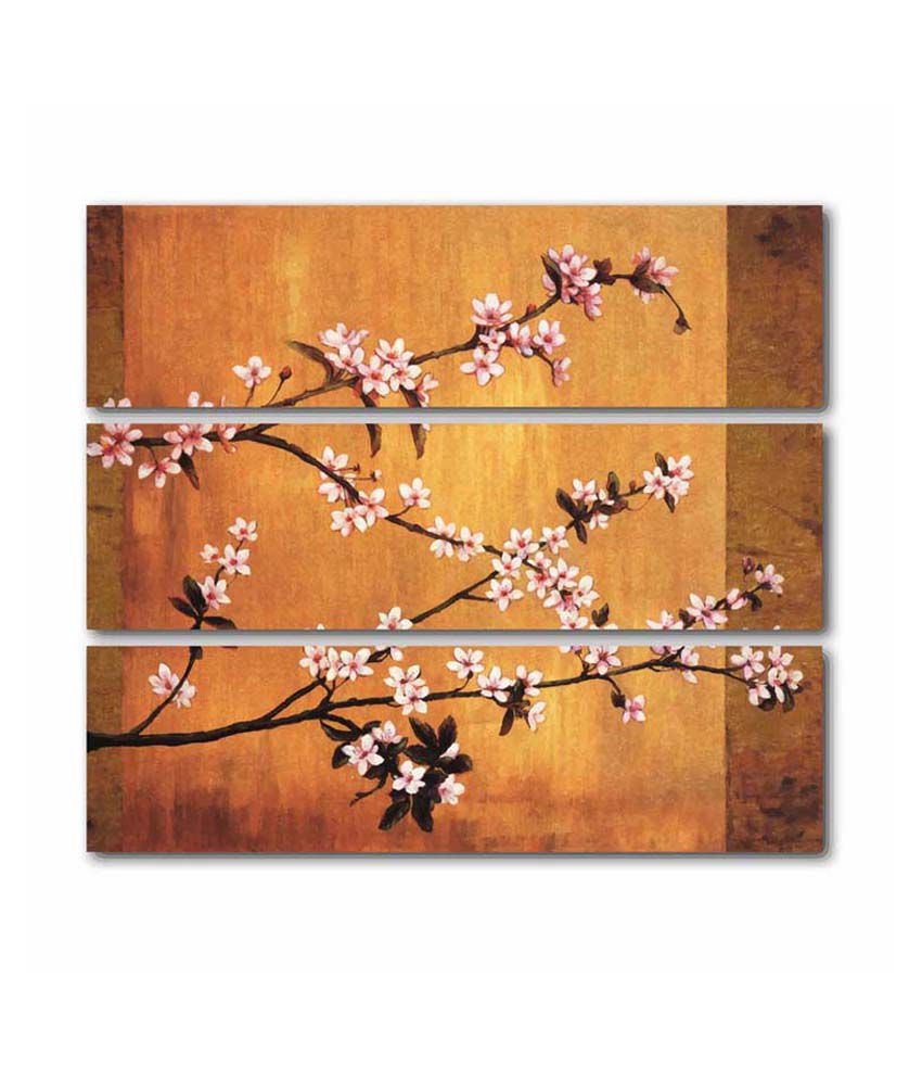 Painting Mantra Cherry Blossoms 3 piece Set