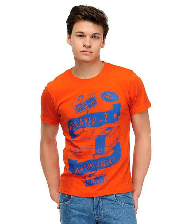 Yepme Orange T Shirt
