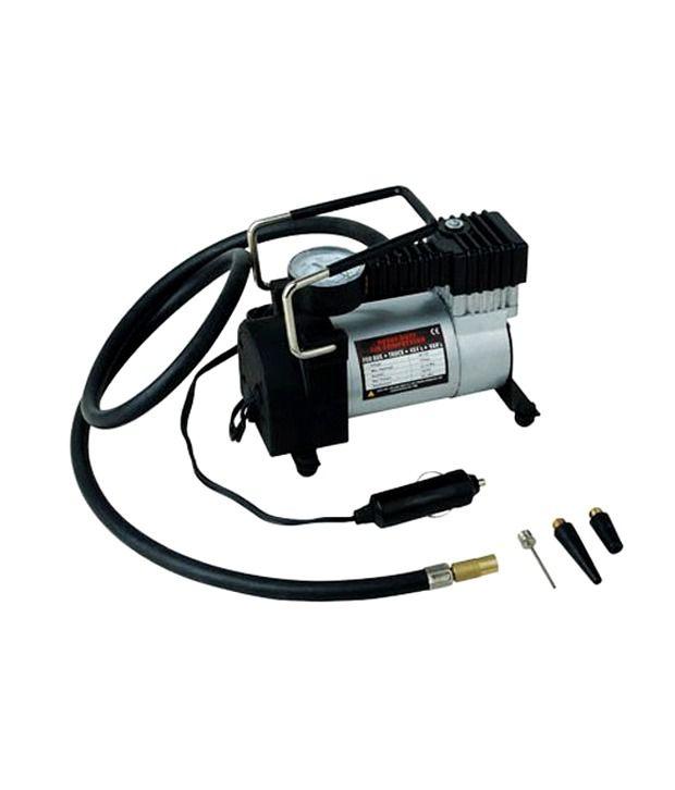 Air Pump 12v Electric Car Bike Metal Air Compressor Pump