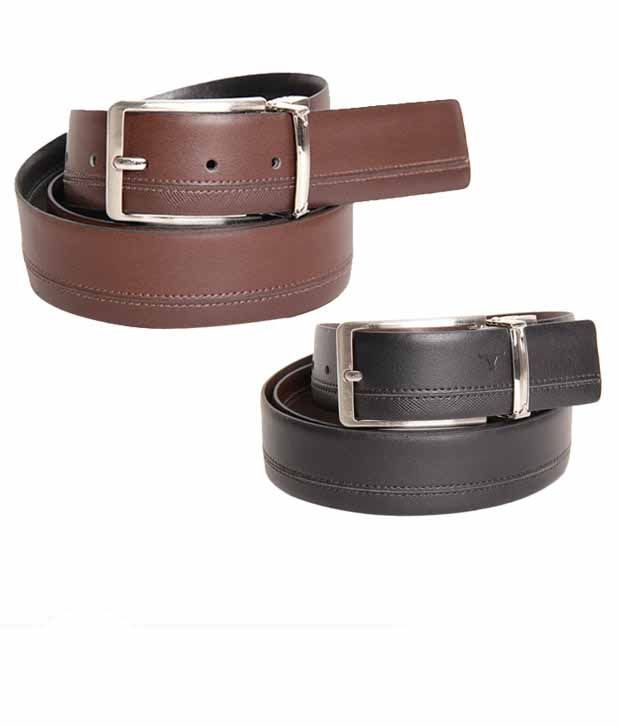 Bulchee Luxuriant Black & Brown Reversible Belt