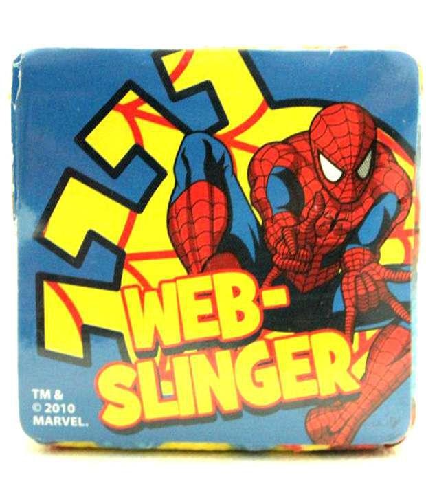 Marvel Spider Sense SPIDER-MAN WEB-SLINGING SUPER HERO Die-Cut Board Book Age 3+