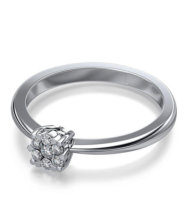 The Medina Seven Stone 18Kt Real Gold & Diamond Ring