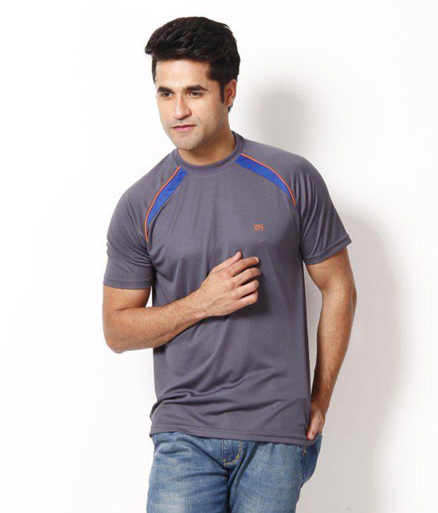 Club York Grey T Shirt