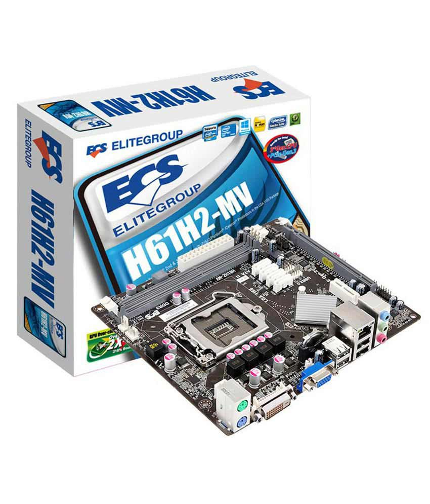 ECS H61 Motherboard - Buy ECS H61 Motherboard Online at Low Price in