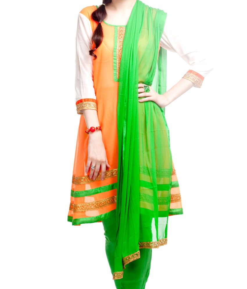 Ethnic Route Tri Color Kalidar SDL279714333 1 9b9af