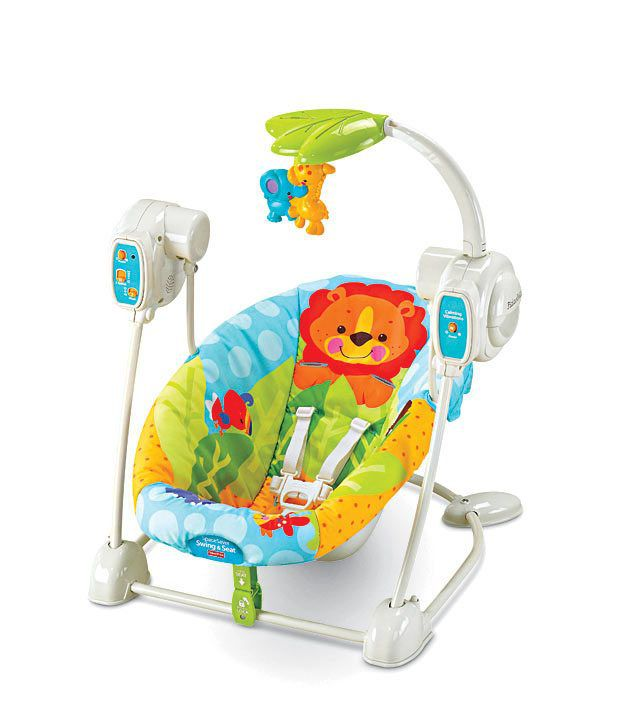 fisher price precious planet blue sky space saver swing seat buy rh snapdeal com