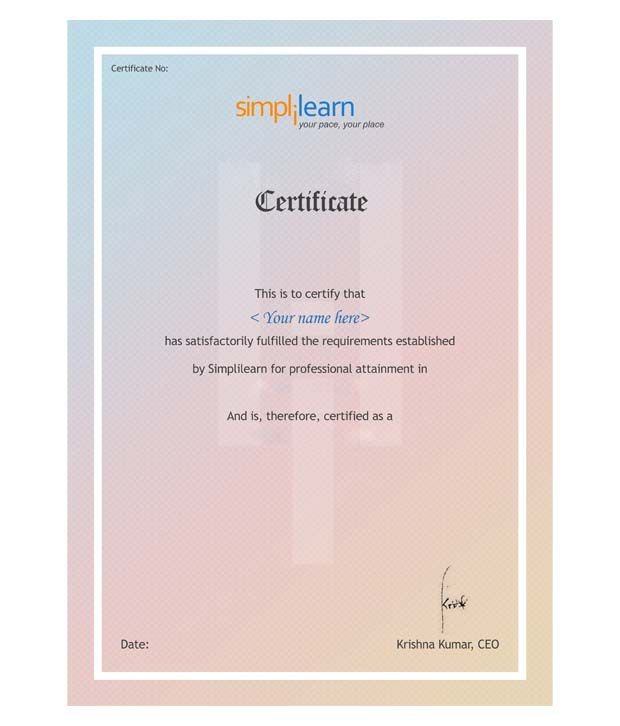 Itil Intermediate Osa Online Training 60 Days By Simplilearn Buy