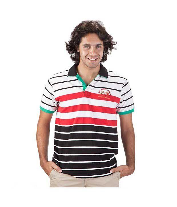Proline Black Polo T Shirt