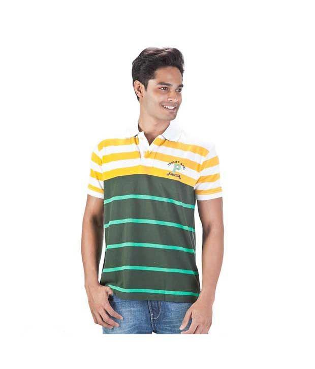 Proline Green Polo T Shirt