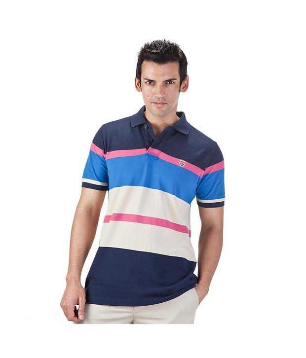 Proline Navy Polo T Shirt