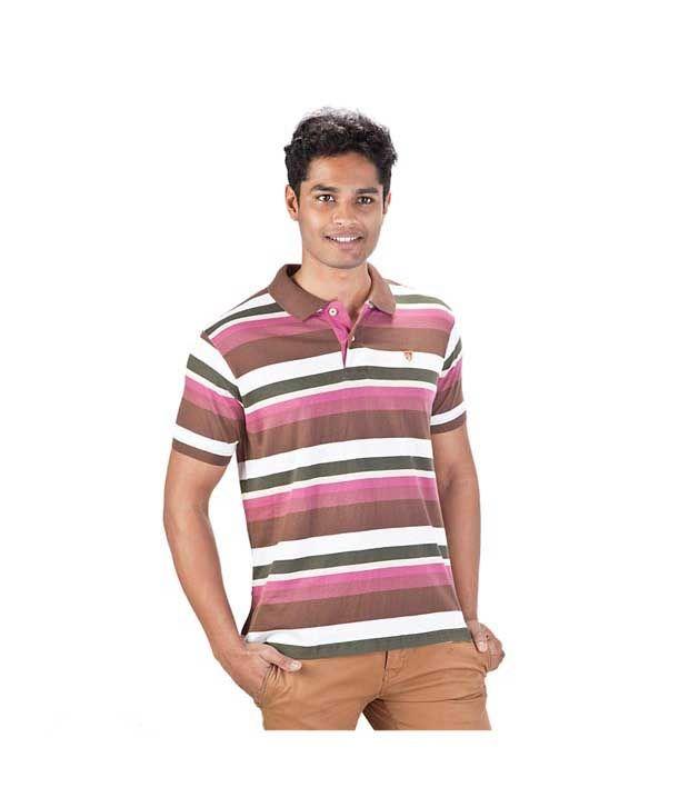 Proline Pink Polo T Shirt