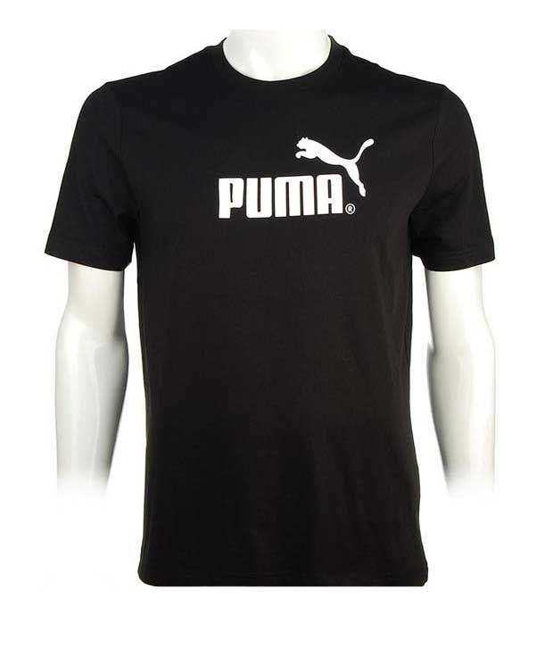Puma Aesthetic Black Men's T-Shirt