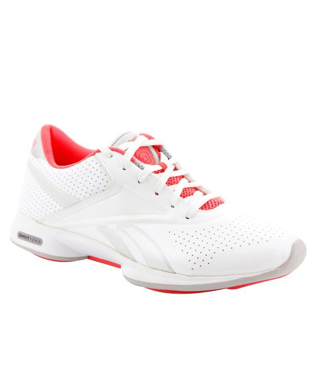 9d7f9e0834e6 Reebok Easytone White   Red Sports Shoes Price in India- Buy Reebok  Easytone White   Red Sports Shoes Online at Snapdeal