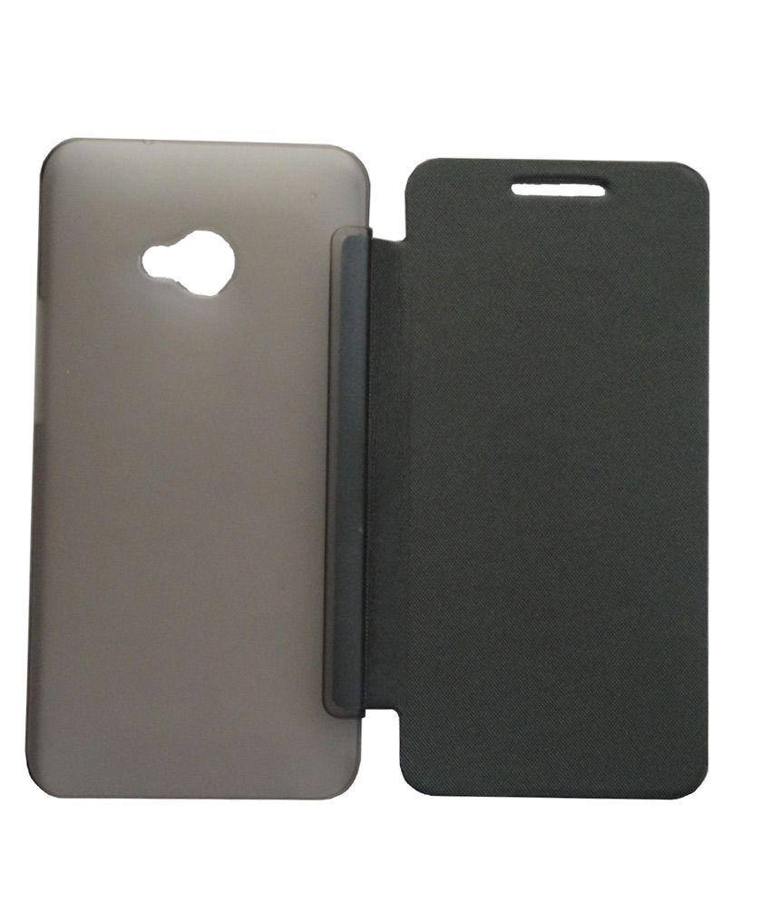 huge sale d1da6 8f6fc Ultra Thin Leather Flip Cover Case For HTC One M7