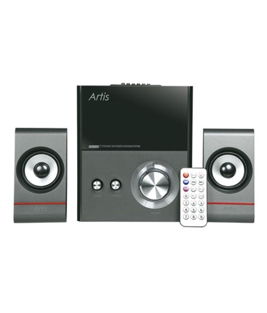 Buy Artis S121 Fum 2 1 Wooden Speaker Online At Best Price In India