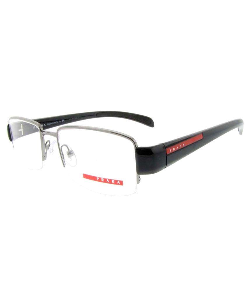 eccdafde4d Prada Rectangle vPS55A-5AV-101-53 Men s Eyeglasses - Buy Prada ...
