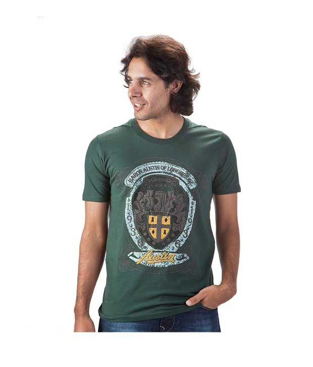 Proline Dark Green T shirt