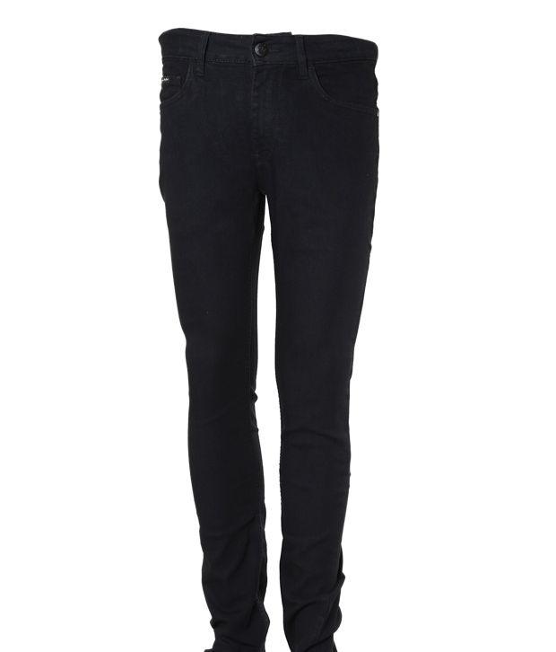 Flying Machine Voguish Black Jeans