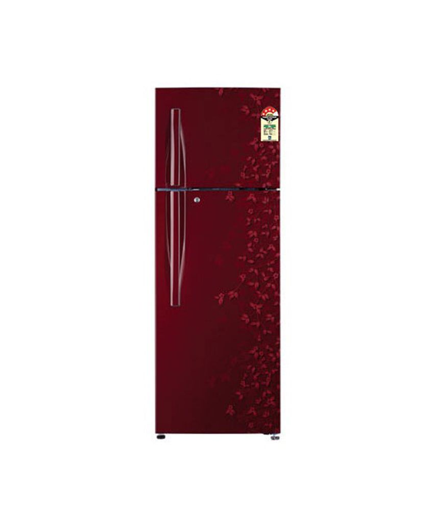 Wine Refrigerator Reviews >> LG 285 Ltr GL-D302RPJL (WG) Double Door Refrigerator Wine Gardenia Price in India - Buy LG 285 ...