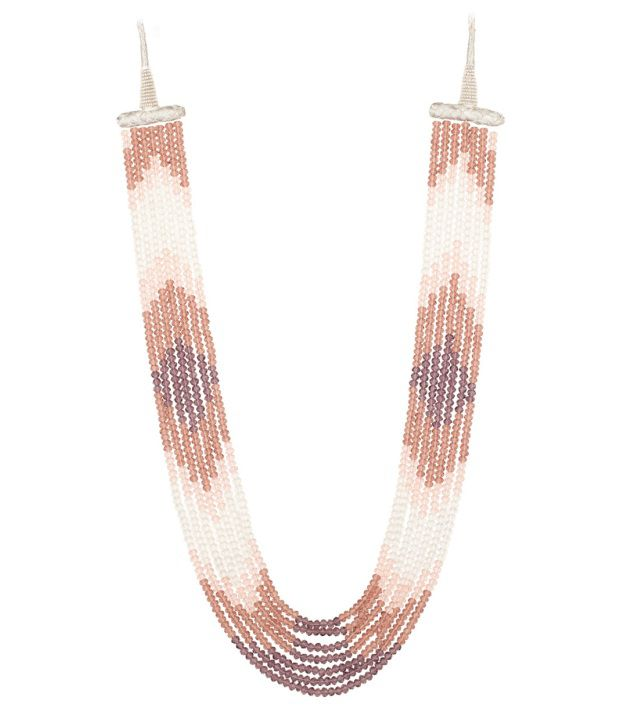 Voylla Multihued Necklace With Fabulous Crystal Beads