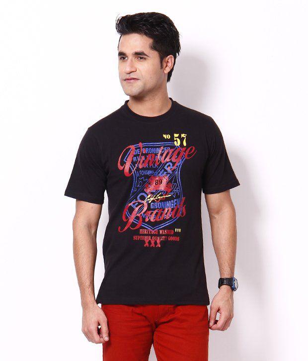 Plam Beach Smart Black T Shirt