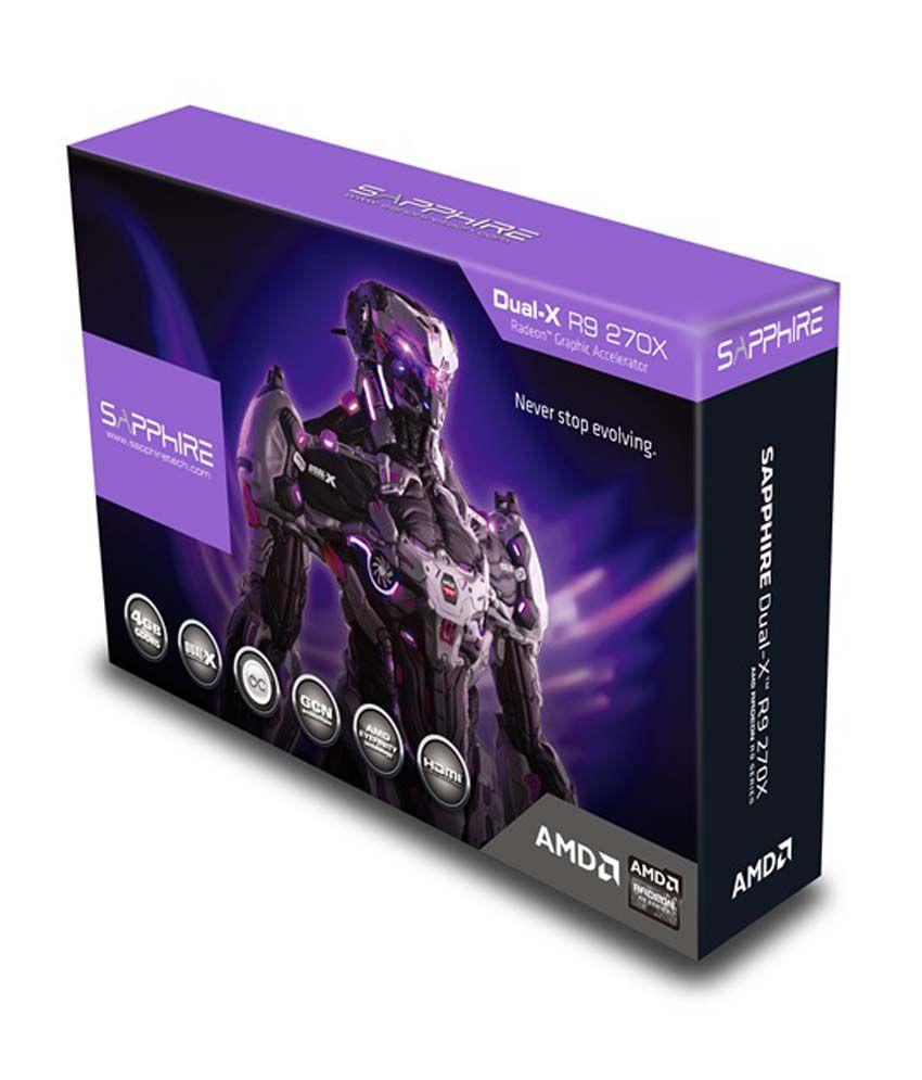 Sapphire AMD 4 GB DDR5 Graphics card