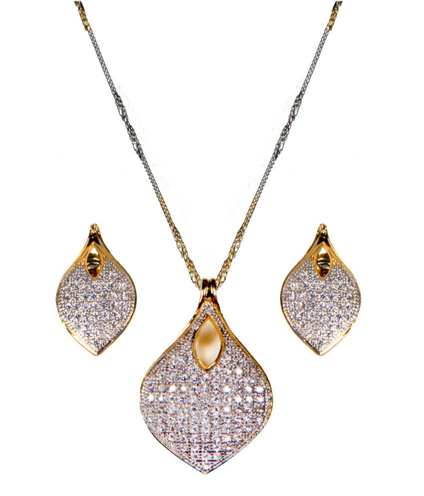 designer endear jewellery charvi diamond set pendant buy