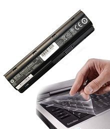 HP Compaq MU06 Laptop Original Battery with Lapronics Keyboard Protector - 3 Years Warranty