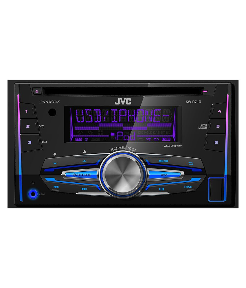 jvc kw r910bt cd receiver with front usb aux input. Black Bedroom Furniture Sets. Home Design Ideas
