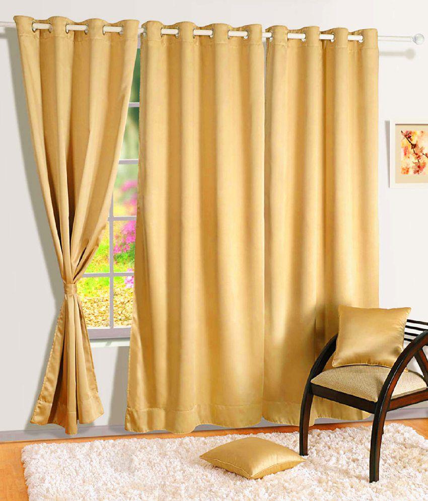Swayam Single Long Door Blackout Eyelet Curtain - Buy Swayam ...