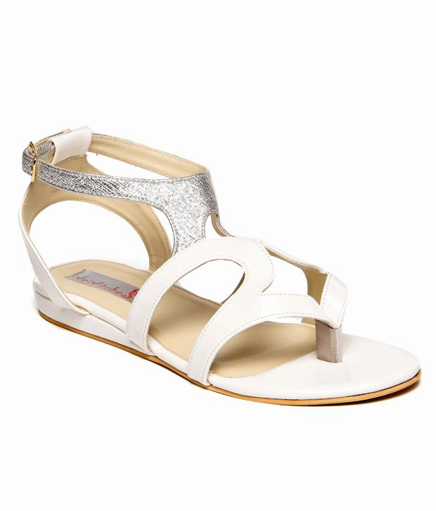 We Witches White Sandal
