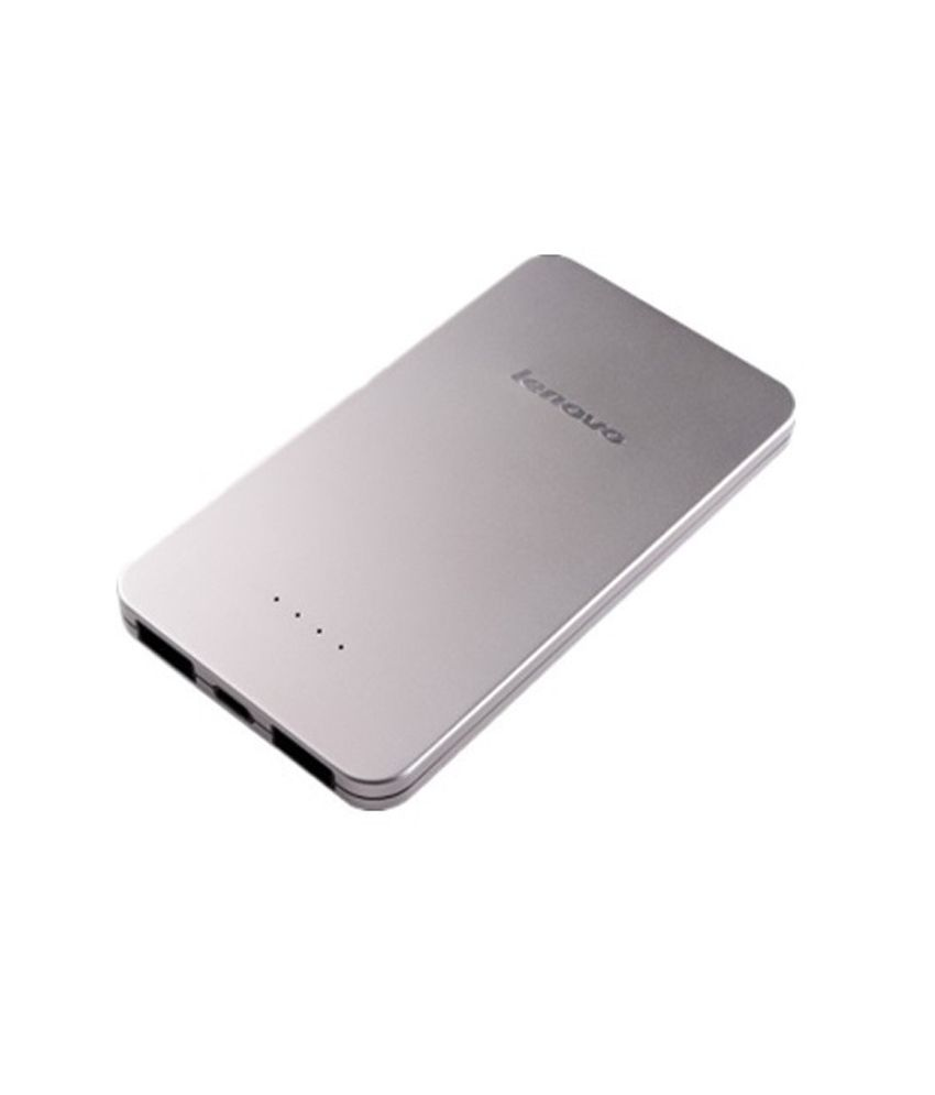 9f5efffd2 Lenovo Power Bank Pb410 5000 Mah (Silver) - Power Banks Online at Low Prices