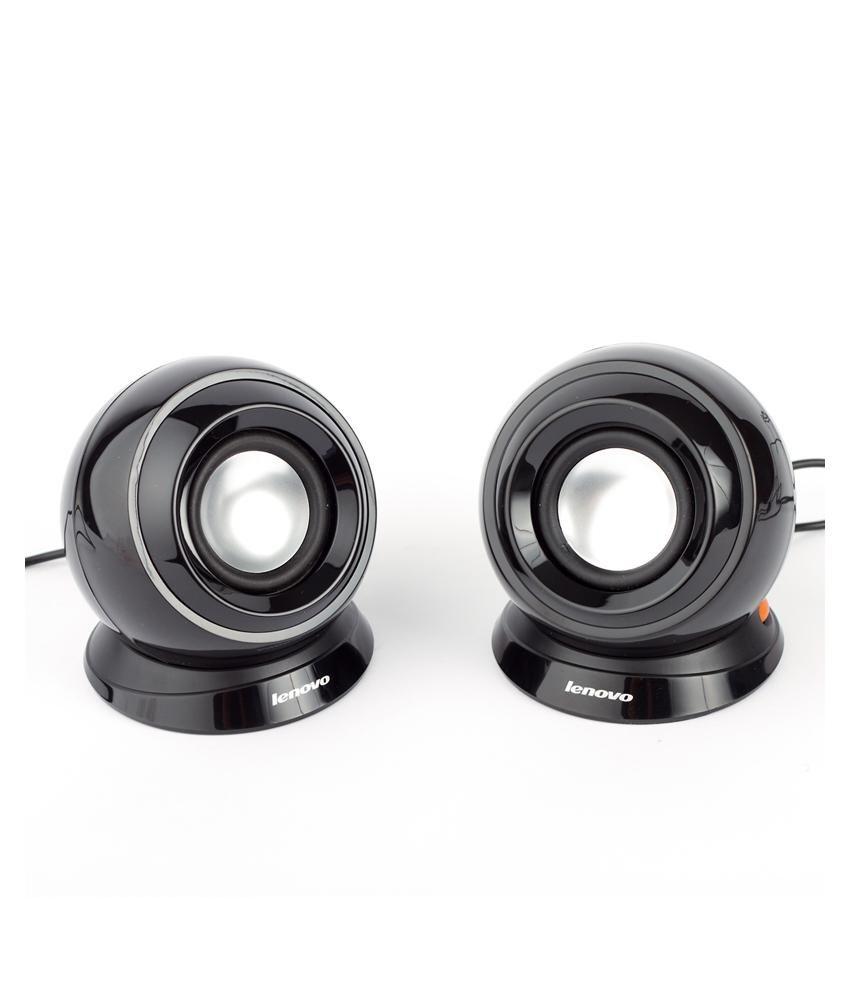 Lenovo USB Speakers 2  Computer Speakersblack