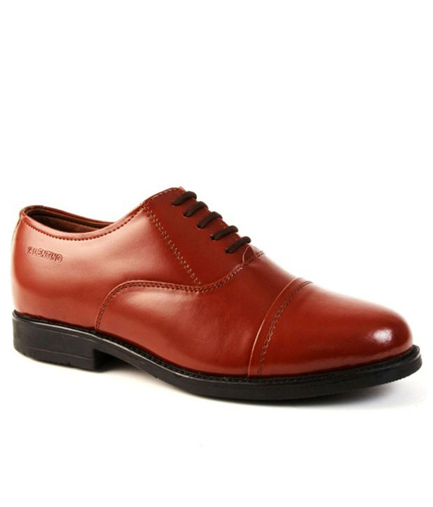 c6b9adfd53237 Valentino Brown Formal Shoes Price in India- Buy Valentino Brown Formal  Shoes Online at Snapdeal