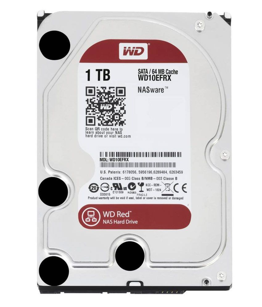 WESTERN DIGITAL  Red 1 TB Nas Red 3.5
